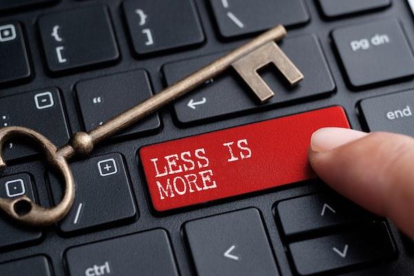 Blog van Anne-Lotte Paymans - Less is more: succesvolle short copy schrijven